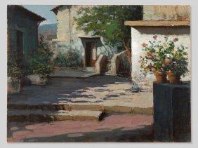 A. Patrisi 'mediterranean Courtyard', Italy, 20th/21st