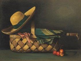 Herrmann Von Point, Still Life With Sun Hat, Germany,