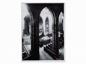 Josef Sudek, 'svaty Vit' (st Vitus Cathedral, Prague),