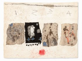 James Coignard, Color Etching & Collage, Composition,