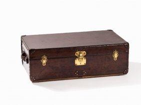 Louis Vuitton, Studded Vintage Malle Cabine Trunk,