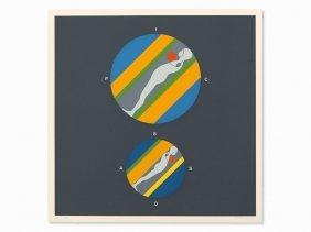 Ernest Trova, Untitled (hommage à Picasso), Serigraph,
