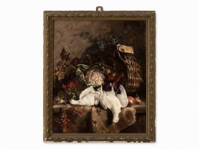 Ilse Müller-noack, Still Life With Hunting Trophies,