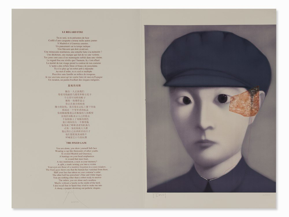 Zhang Xiaogang, from: The Storyteller's Enchantments,