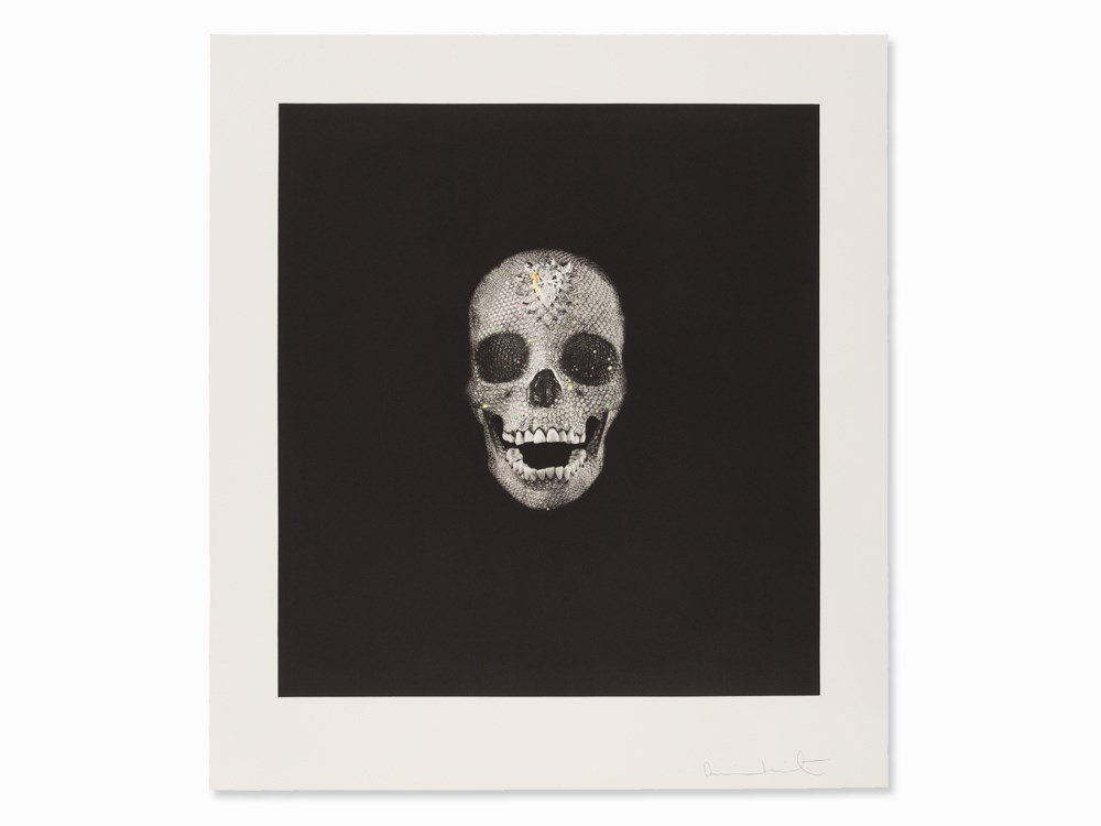 Damien Hirst, Victory Over Death, Photogravure, 2008