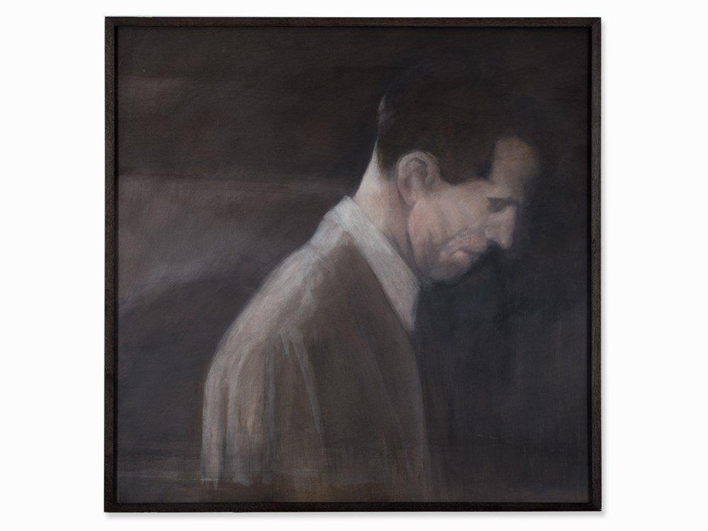 Reniere & Depla, Témoigner (Man), Acrylic on Wood,
