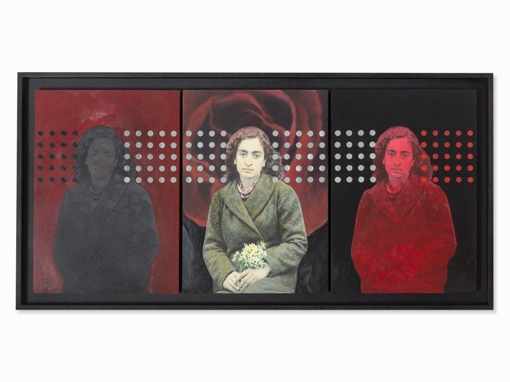 Samira Alikhanzadeh (b. 1967), Self-Portrait