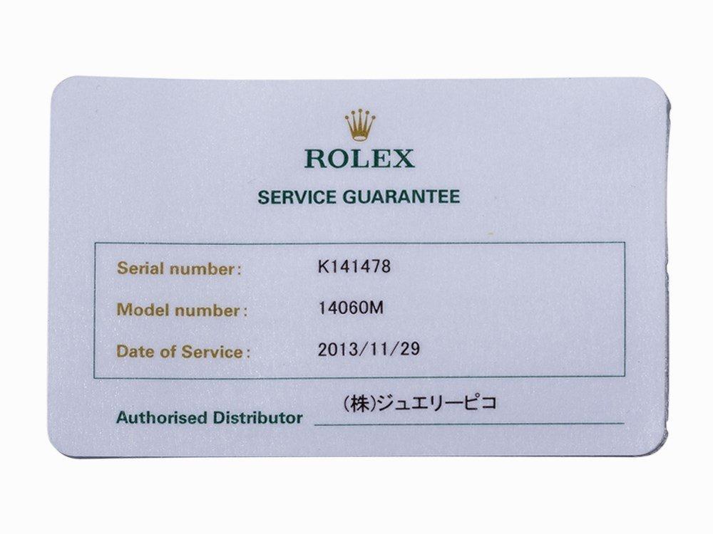 Rolex Submariner, Ref. 14060M, Switzerland, c. 2001 - 10