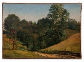 Carl Köster (1812-1893), Tyrolean Autumn Landscape,