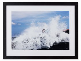Michel Comte (b. 1954), Michael Schumacher, Photograph,