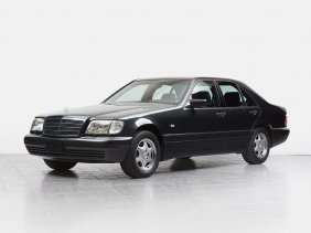 Mercedes-benz S 320 With A Mileage Of 57,720 Km, W140,