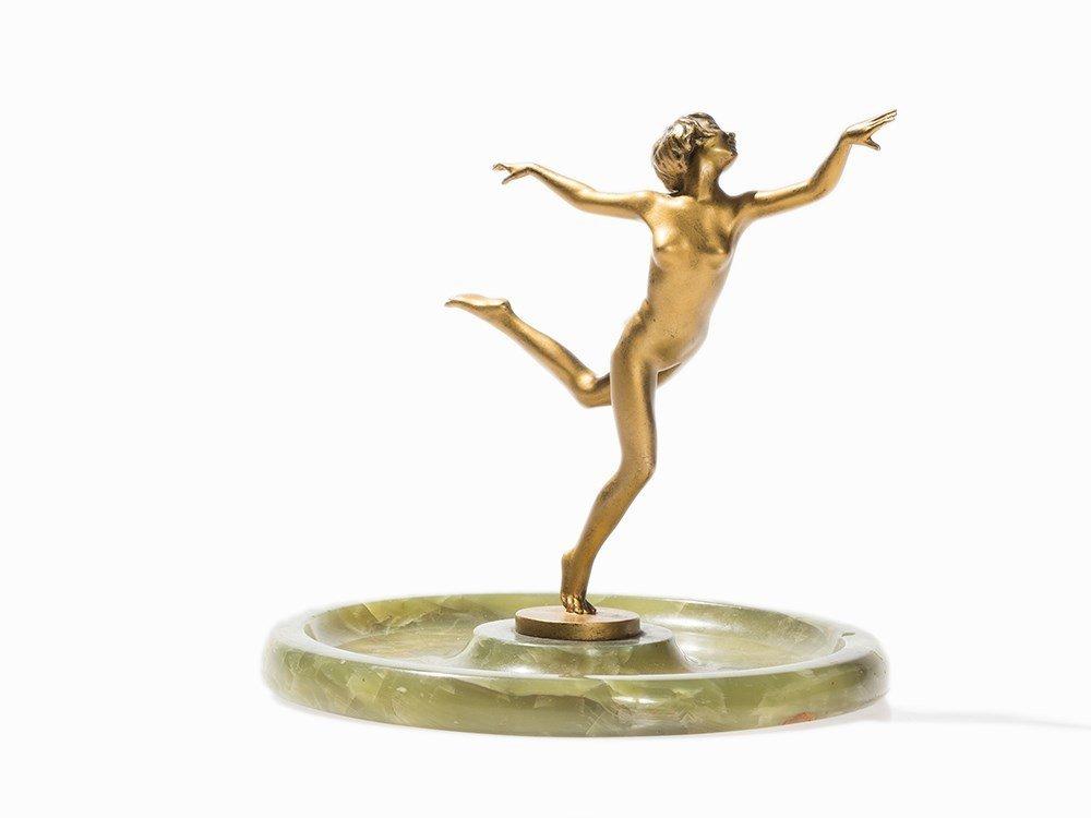 Josef Lorenzl (1892-1950), Dancing Female Nude, c. 1930