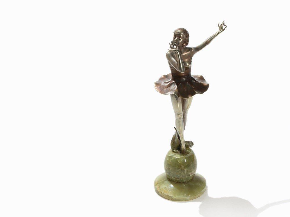 Josef Lorenzl, Danseuse, Bronze, Austria, 1935