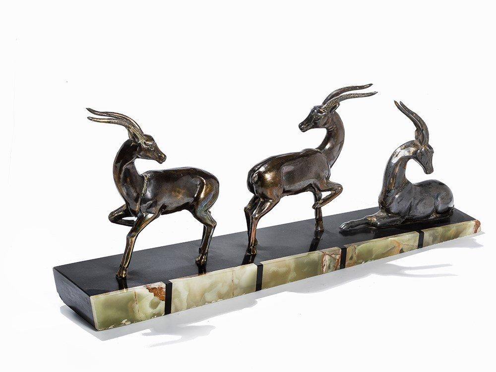 Three Antelopes, Pres. France, 1920s