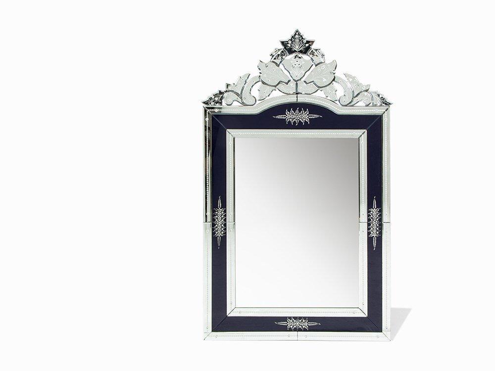 An Impressive Hollywood Regency Style Mirror, Italy,