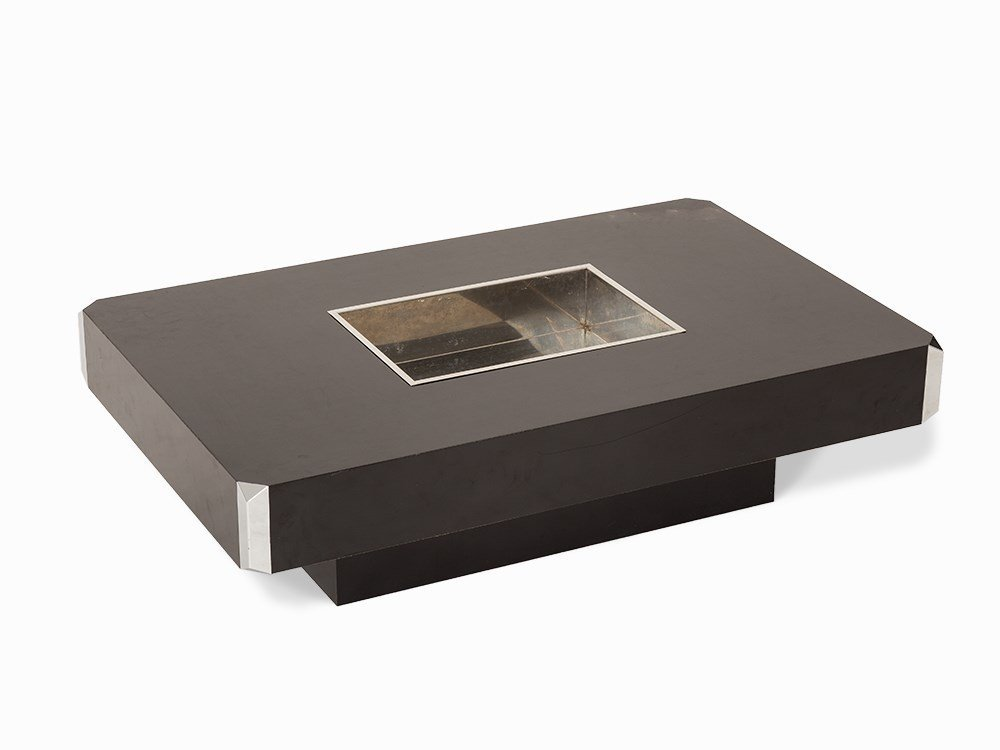Willy Rizzo, Alveo, CoffeeTable, Italy, c. 1970