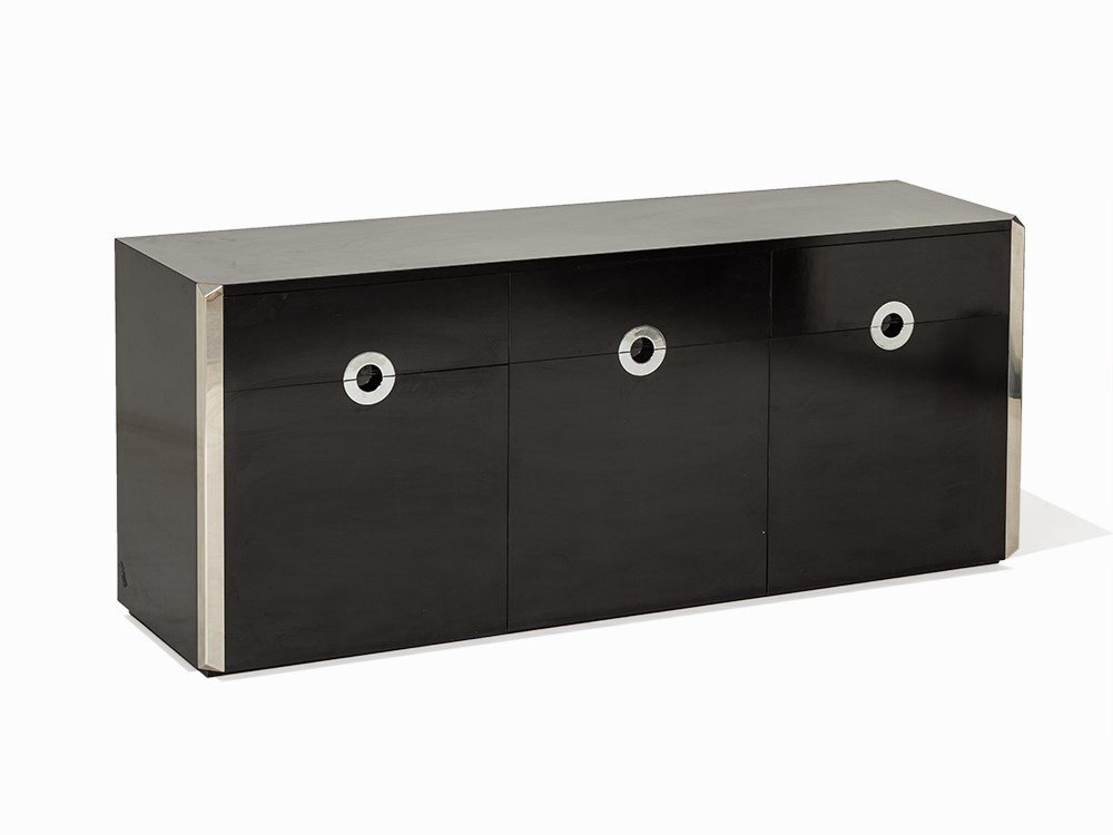 Willy Rizzo, Sideboard, Mario Sabot, Italy, c. 1970
