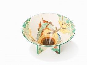 Clarice Cliff, Ceramic Bowl, Fantasque-décor, England,