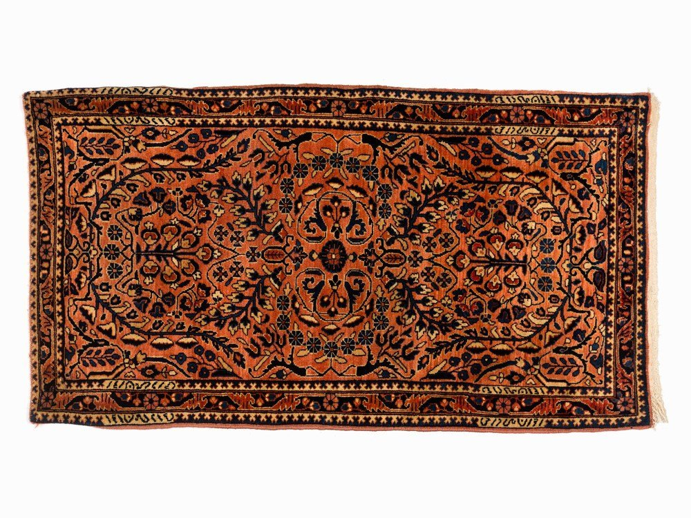 Persian Sarouk Rug with Vegetal Pattern, Iran, Early