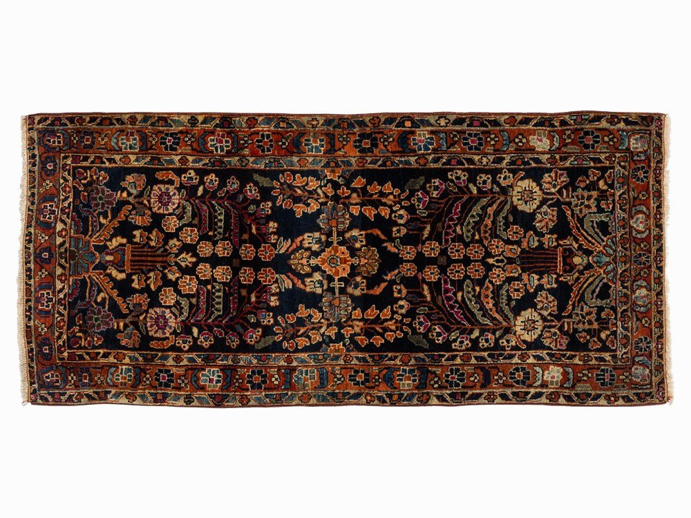 Persian Sarouk Mohajeran with Floral Pattern, Iran,