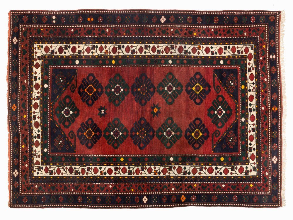 Kasak Bordjalou Rug with a Vegetable Pattern, South