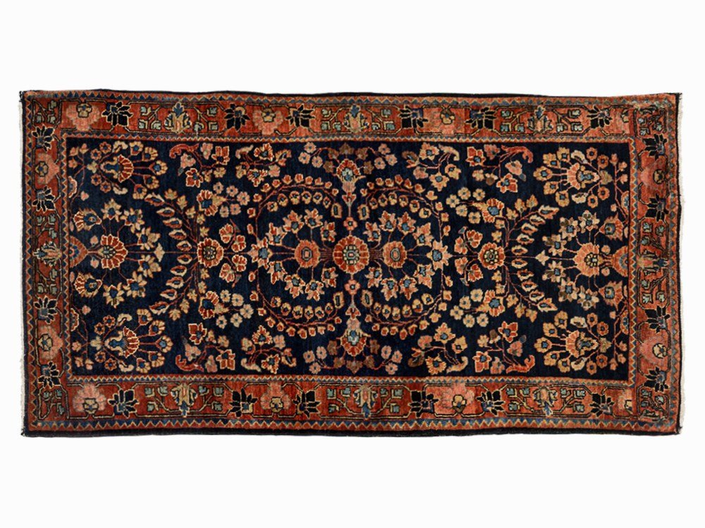 Persian Sarouk Rug with Vegetal Décor, Iran, Early 20th