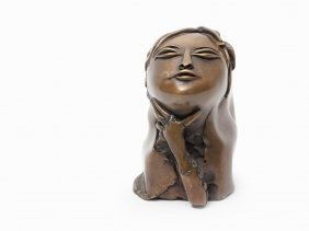 Paul Wunderlich, Bronze, Asian Woman, Germany, 2003