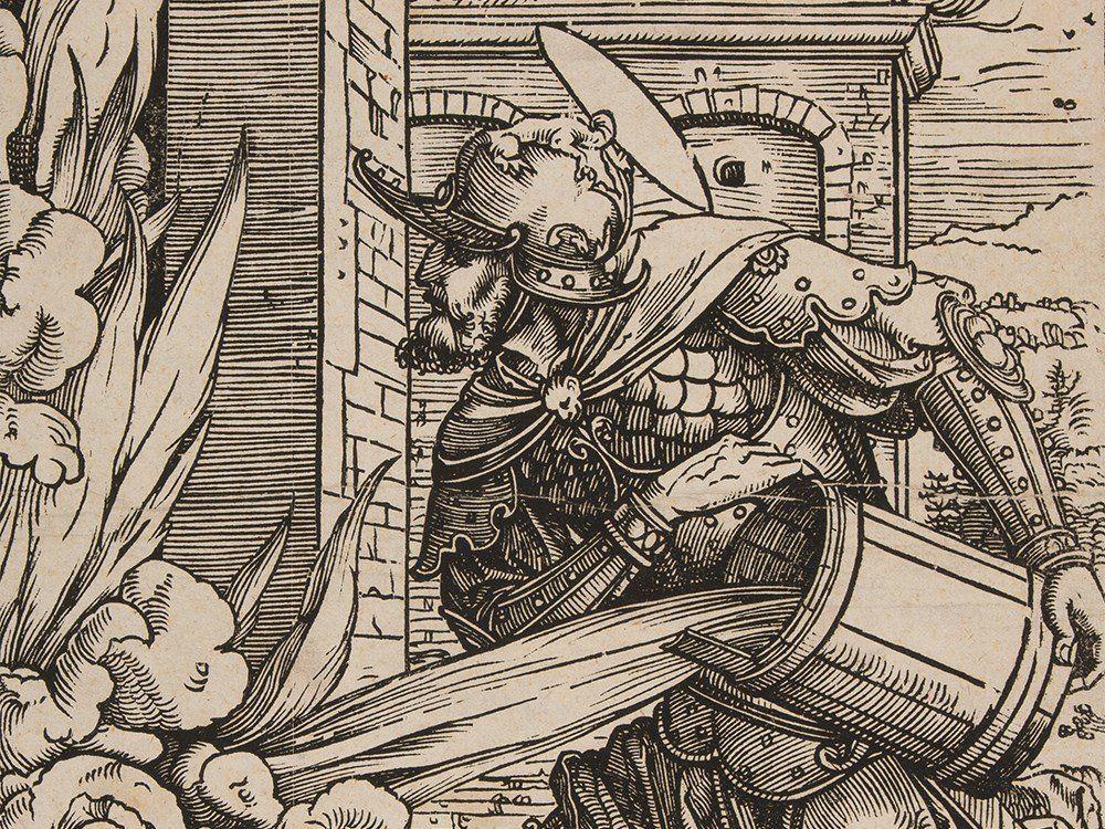 Heinrich Vogtherr II, Woodcut 'Saint Florian', around