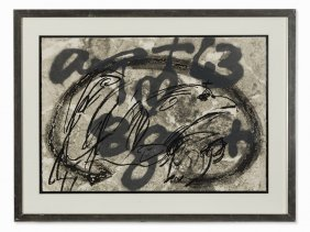 Antoni Tàpies, Urpes, Etching And Serigraph, 1992
