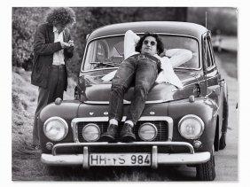 Günter Zint (b. 1941), Tim Buckley & David Peel, Essen,