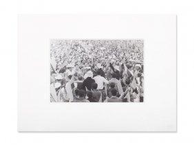 Osvaldo Salas , Photograph 'revolution', Signed, 1969