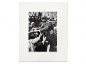 Ulvis Alberts, 'robert Kennedy, Seattle', Signed, 1968