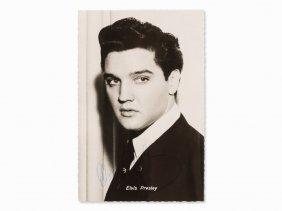 Elvis Presley Autograph On Kolibri Photo Card, Circa