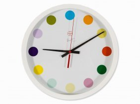 Damien Hirst For Other Criteria, Large Spot Clock, 2009