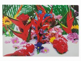 Marc Quinn, Heliconia, From: Winter Garden, Pigment