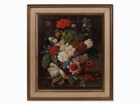 Franz Xaver Pieler, Flower Bouquet, Austria, C. 1925