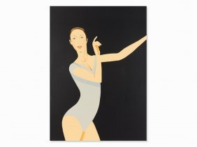 Alex Katz, Sarah, Serigraph In Colors, 2011
