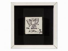 Keith Haring (1958-1990), Angel For Bridgit Polk,