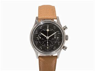 Wittnauer Chronograph, Ref. 242T, c. 1960, tested for