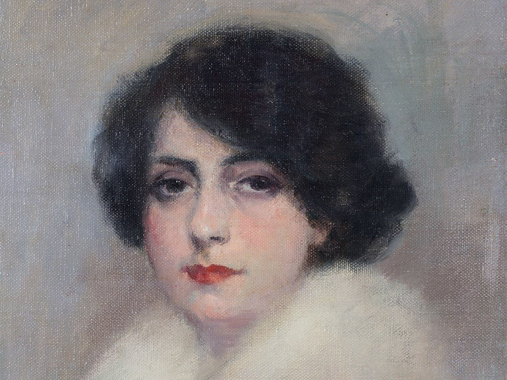 Ramón Casas y Carbó (1866-1932), Portrait of Julia,