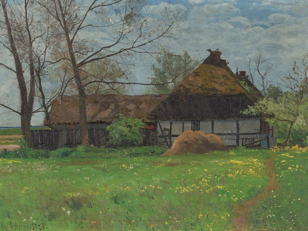 Paul Müller-Kaempff (1861-1941), Silence (Farmstead),
