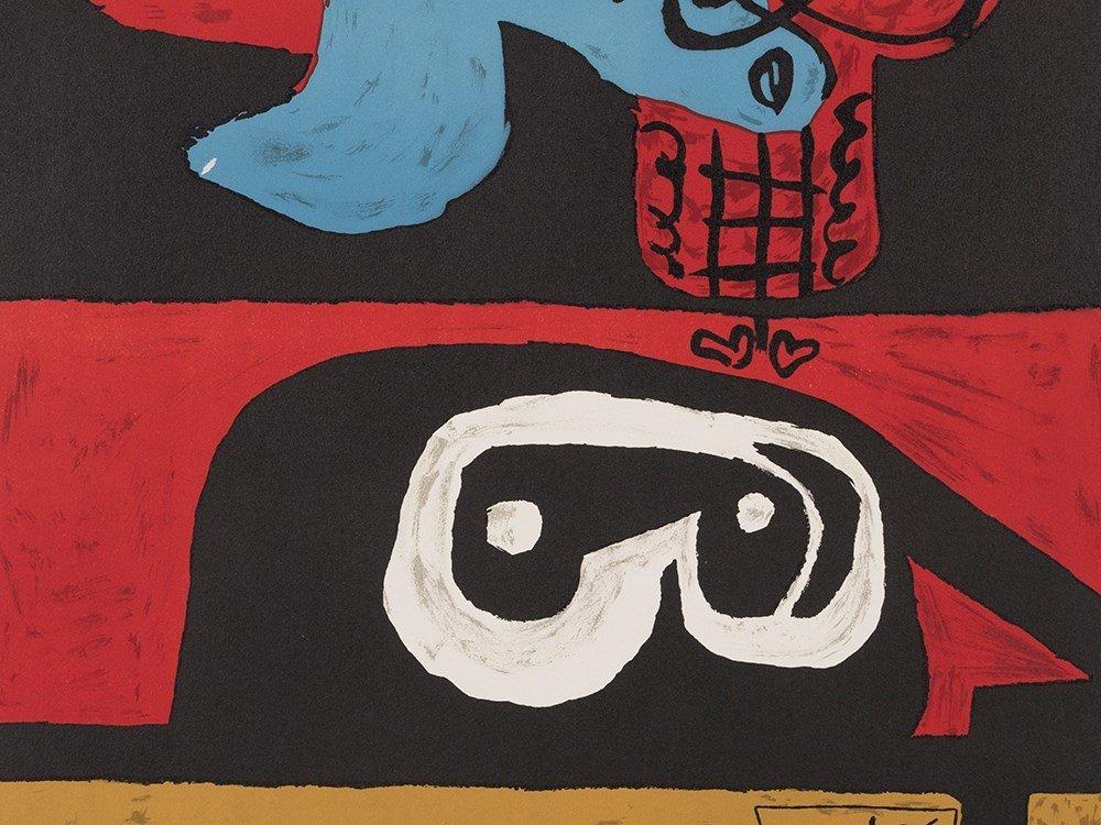 Le Corbusier, Autrement que sur Terre, Color