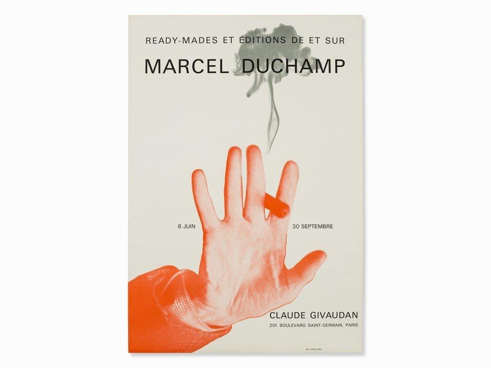 Marcel Duchamp, Exhibition Poster, Offset Print, 1967