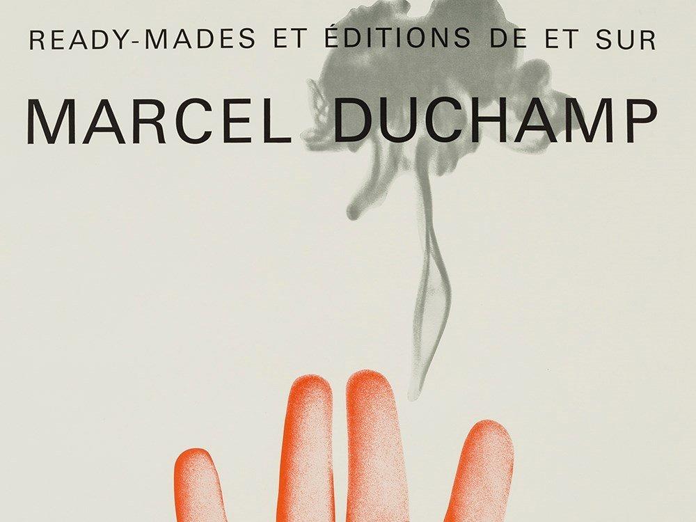 Marcel Duchamp, Exhibition Poster, Offset Print, 1967 - 3