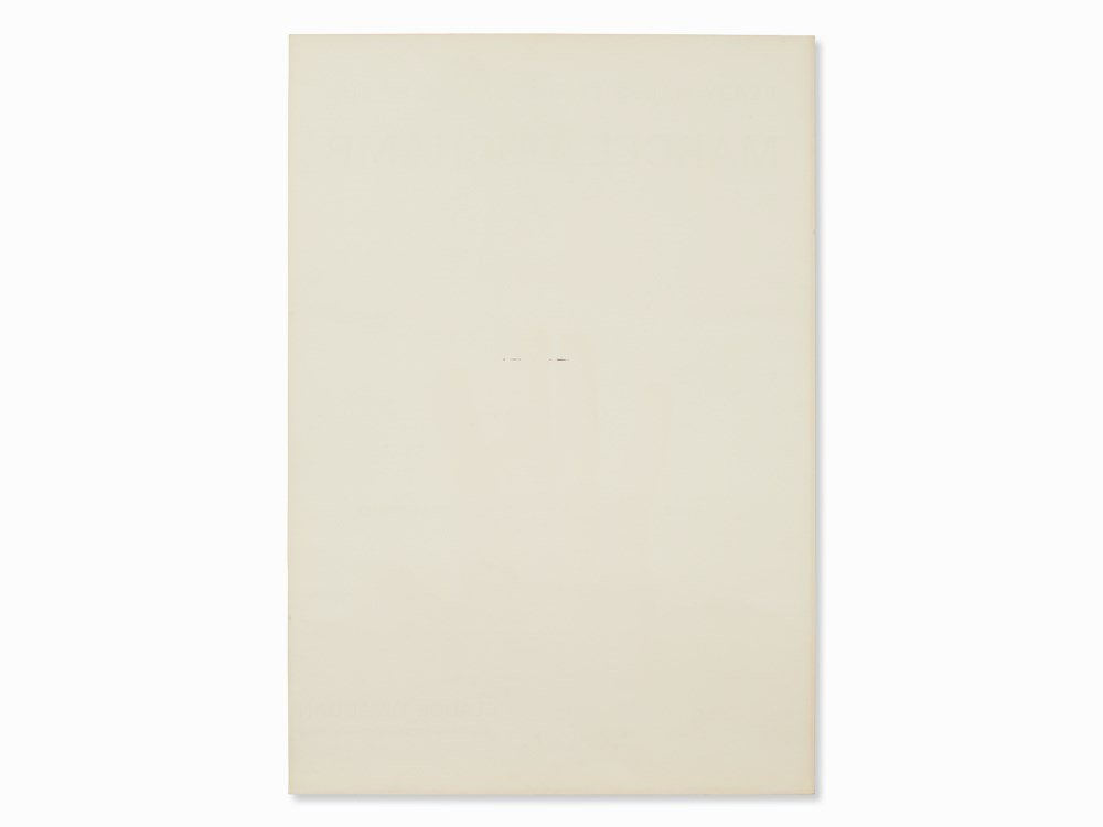 Marcel Duchamp, Exhibition Poster, Offset Print, 1967 - 7