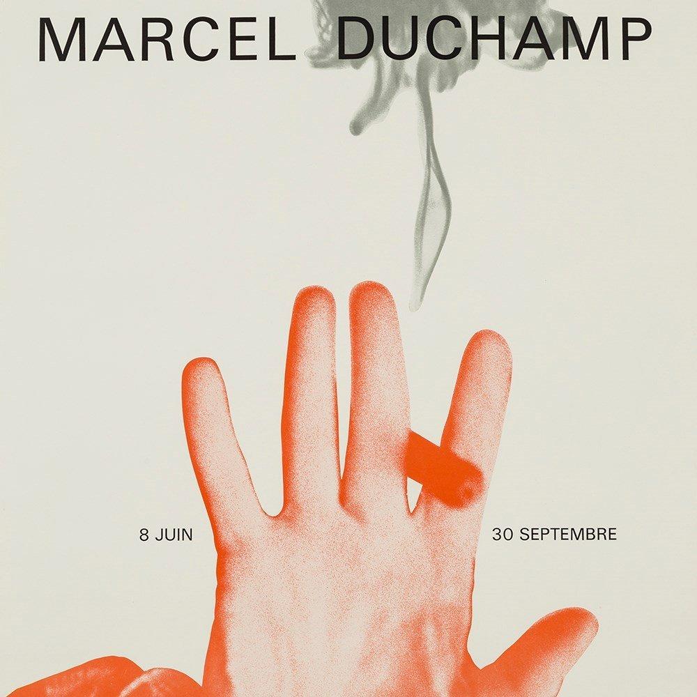 Marcel Duchamp, Exhibition Poster, Offset Print, 1967 - 8