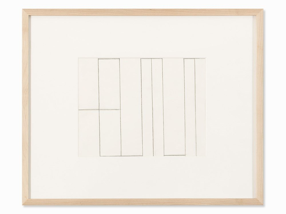 Helmut Federle (b. 1944), My Name as a Structural