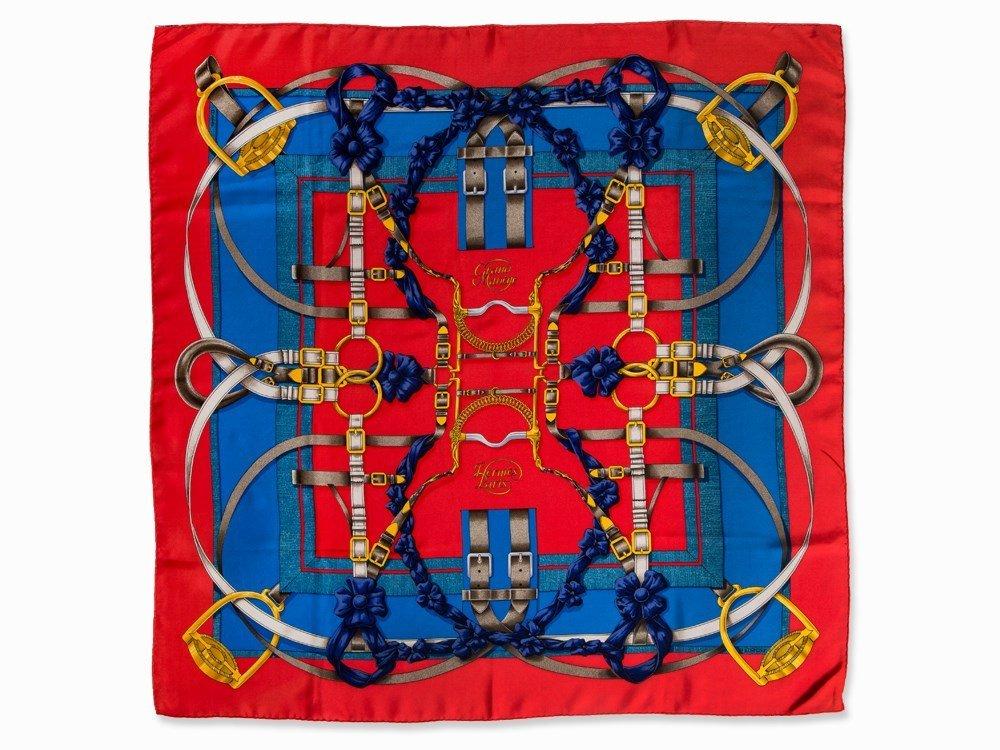 Hermès Carré 'Grand Manège', 87 x 87 cm