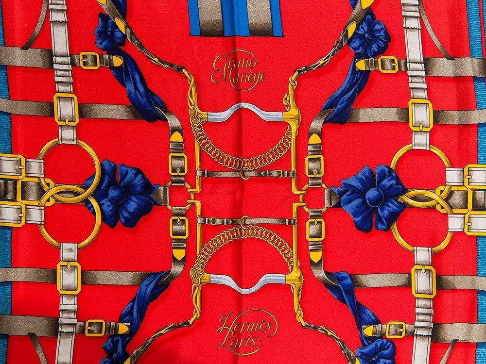 Hermès Carré 'Grand Manège', 87 x 87 cm - 3