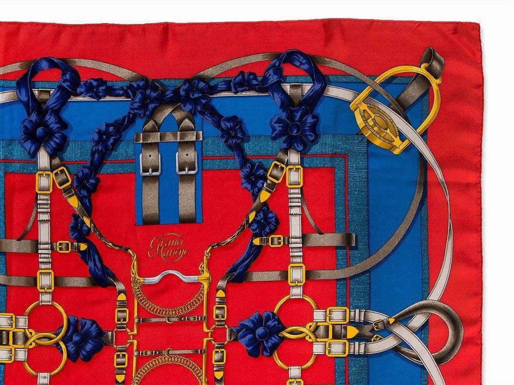Hermès Carré 'Grand Manège', 87 x 87 cm - 6
